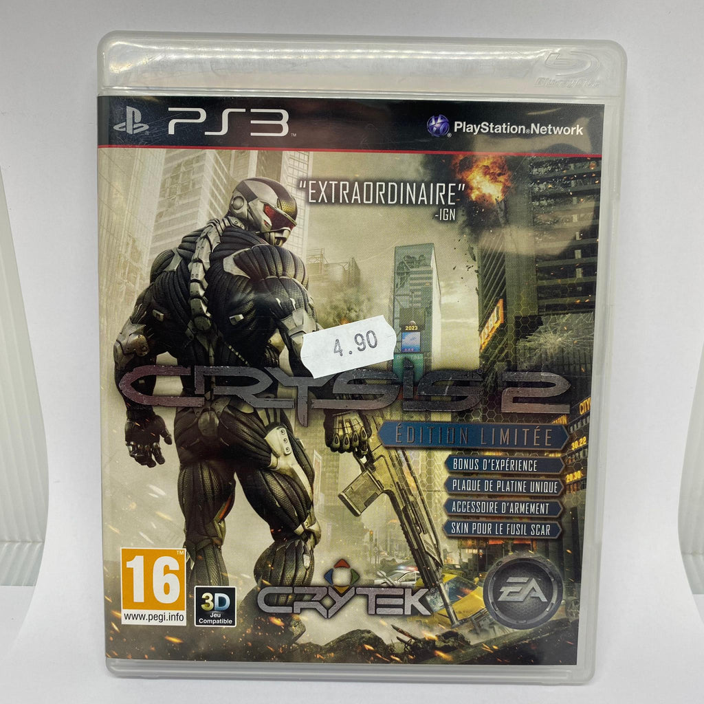 Jeux PS3 Crysis 2