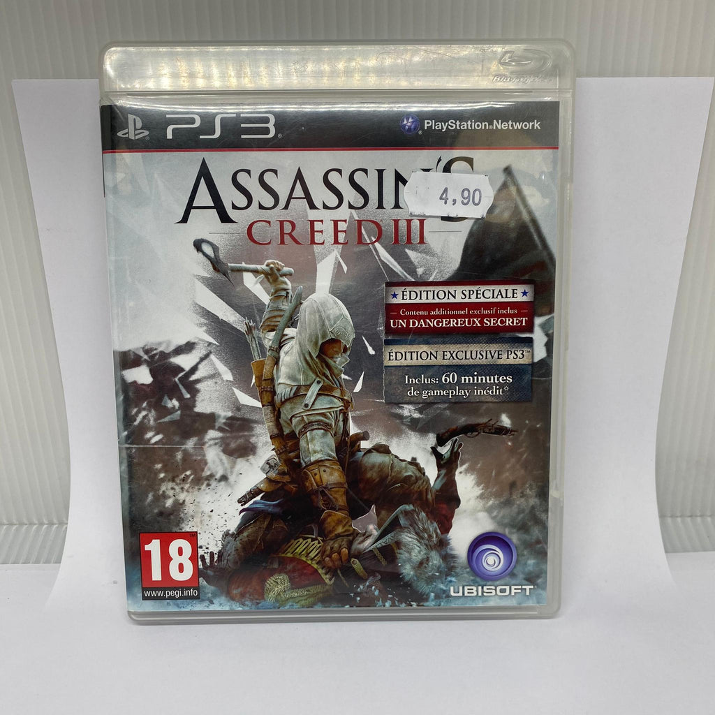 Jeux PS3 Assassin'S Creed lll
