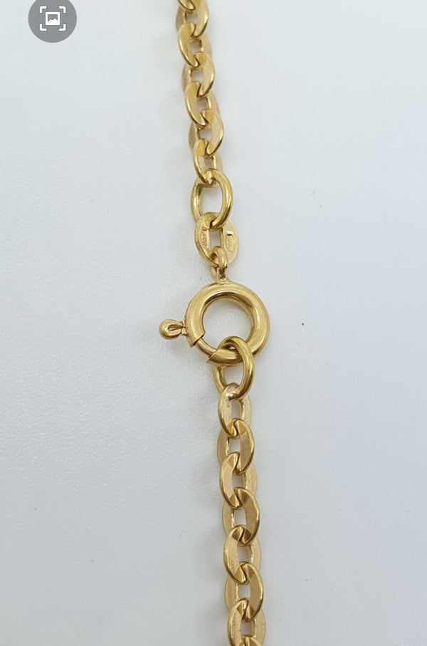 Collier Or 18k 16,75gr, taille 66cm