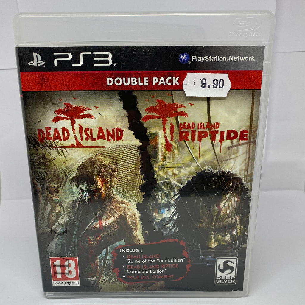 Jeux PS3 Dead Island Double pack