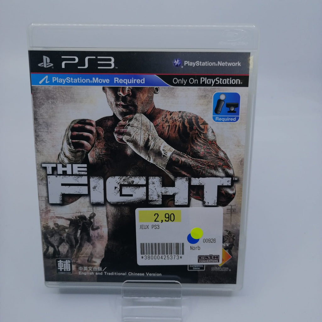 Jeux ps3 The fight