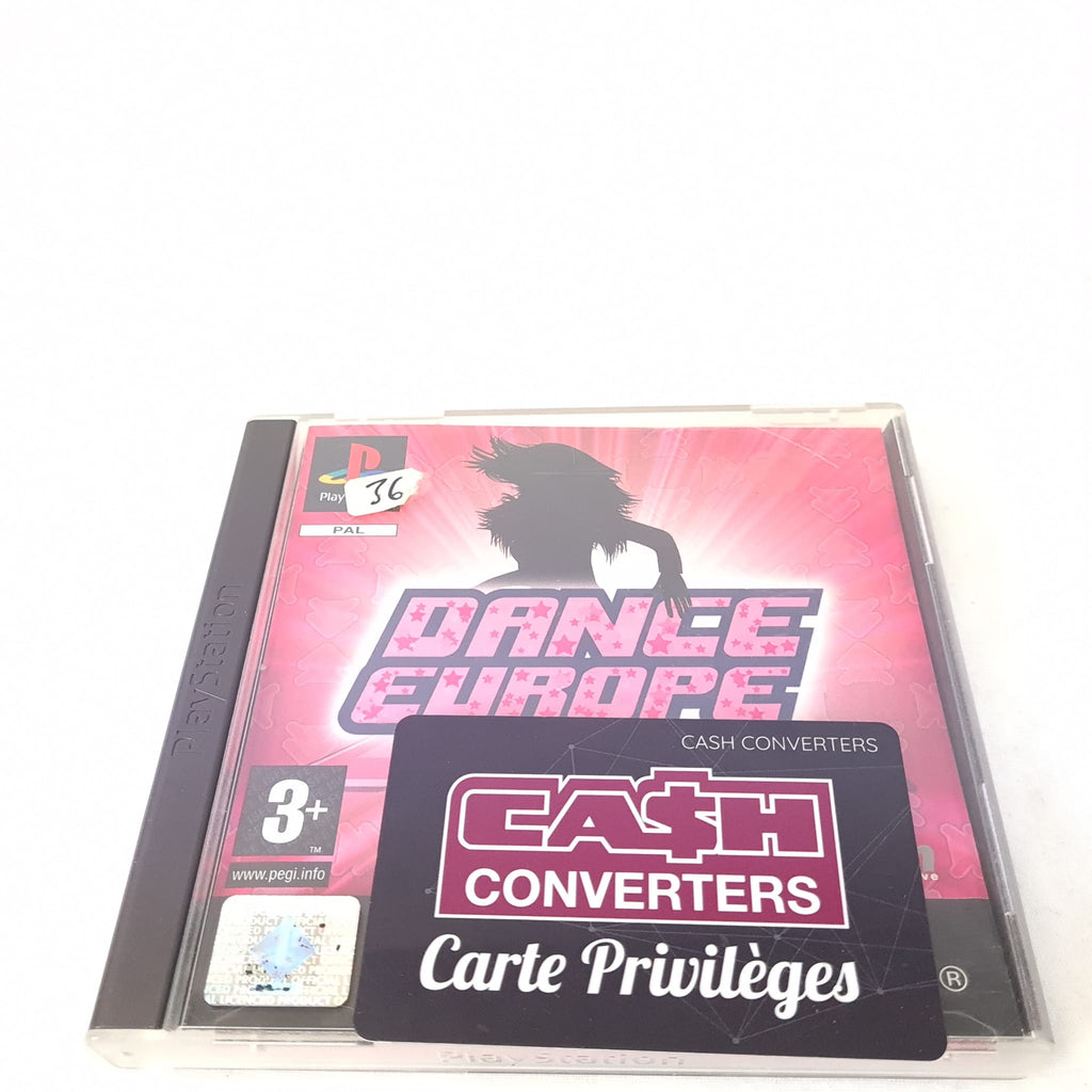 JEU VIDEO PS1 DANCE EUROPE