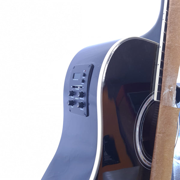 GUITARE FOLK ELECTRO ACIUSTIQUE CHAPEL DG220