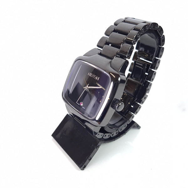 MONTRE NIXON CERAMIC PLAYER RUBIS