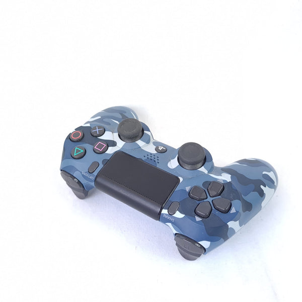 MANETTE PS4 V2  Edition Military Blue