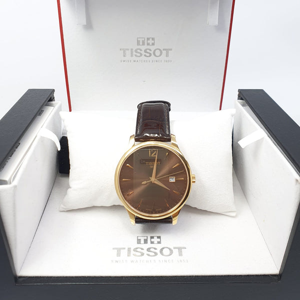Montre Tissot Tradition T063610A, full set