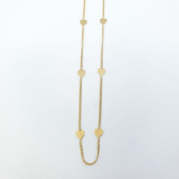 Collier Or 18k 2,48gr, taille 40cm