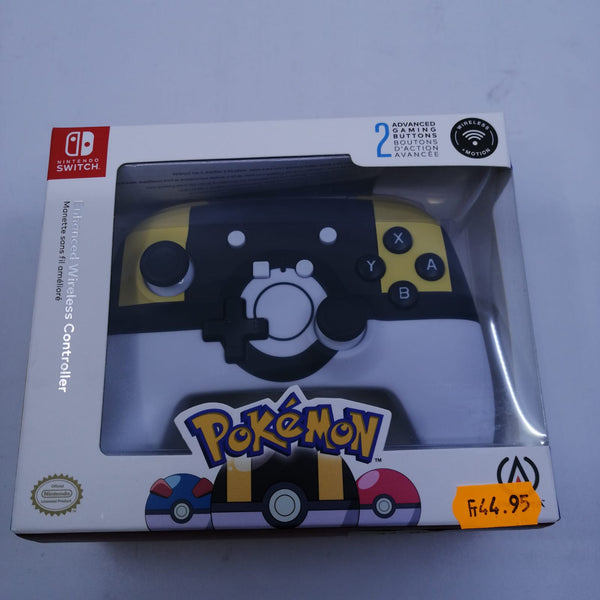 Manette sans fil switch [bouton d'action hyper] pokemon neuve