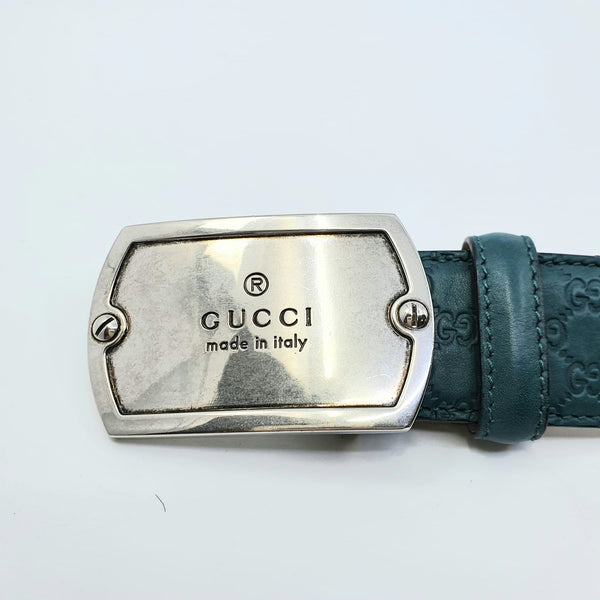 Ceinture Gucci Leather Belt taille 90