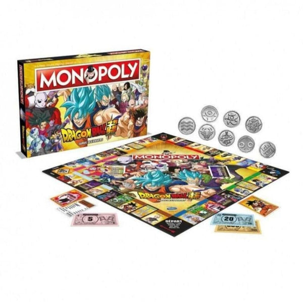 MONOPOLY DRAGIN BALL SUPER  Neuf