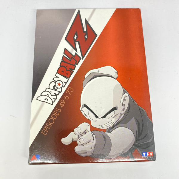 COFFRET DVD DRAGON BALL Z (ÉPISODES 49-73)