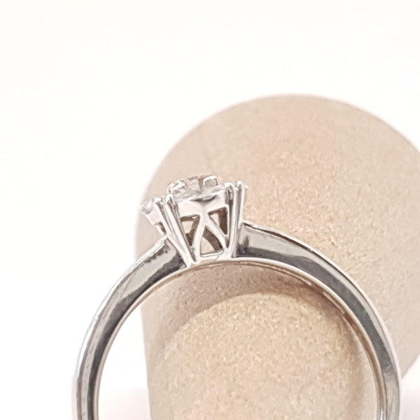 BAGUE DIAMANTS,  Or blanc 18k