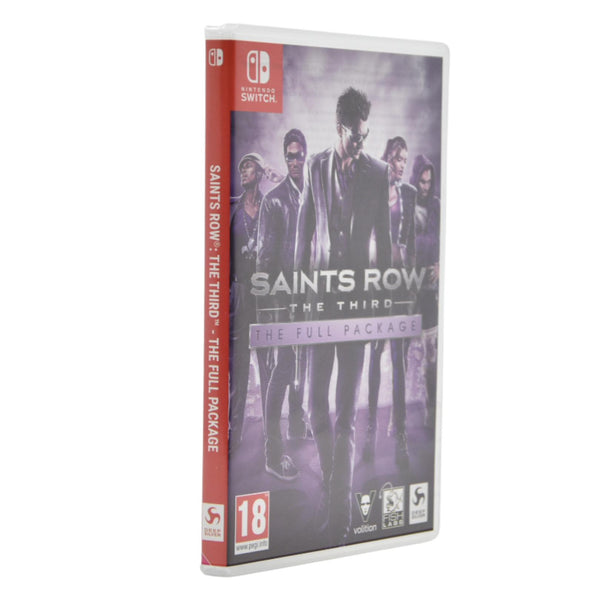 Jeu Nintendo Switch Saints Row the third, the full package