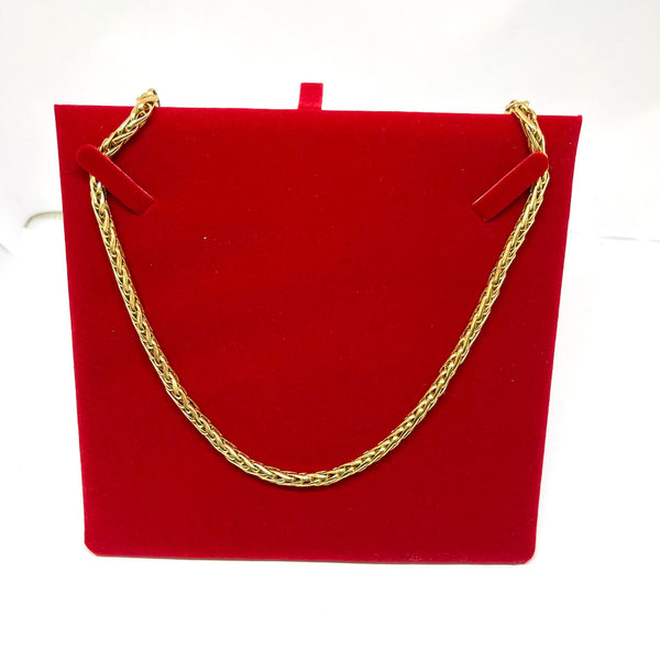 Collier en or jaune 18k 18.5 gr
