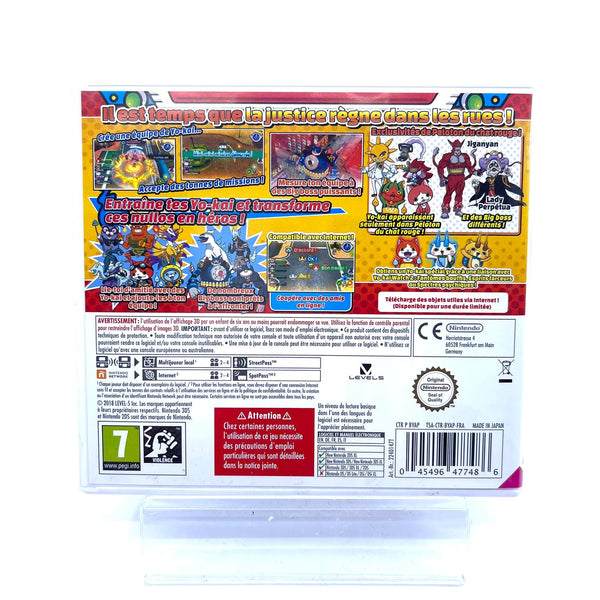Jeu Nintendo 3DS Yo-Kai Watch : peloton du chat rouge