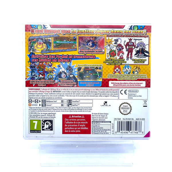 Jeu Nintendo 3DS Yo-Kai Watch blasters : peloton du chat rouge