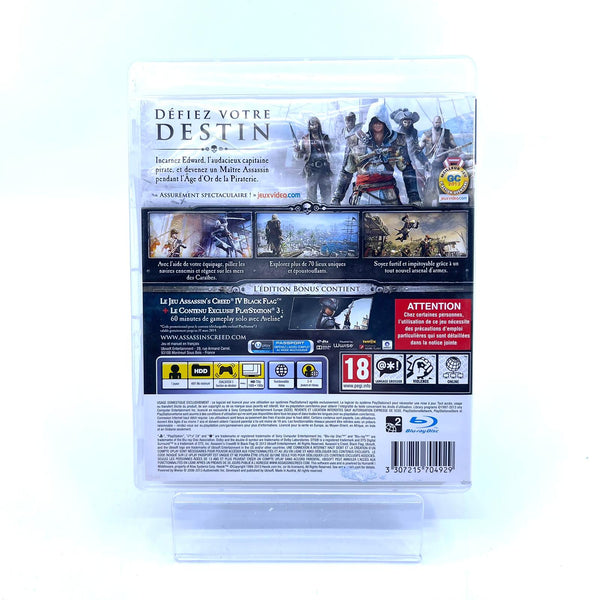 Jeu PS3 Assassin's Creed Black Flag