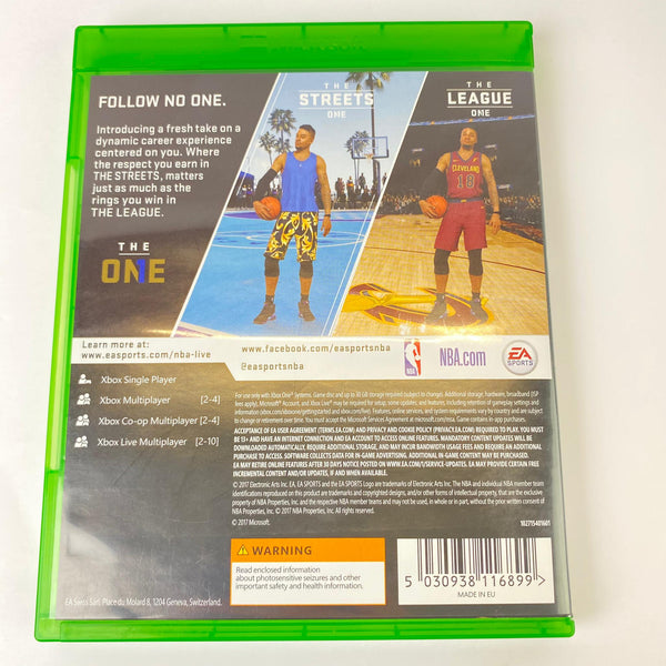 JEU XBOX ONE NBA LIVE 18