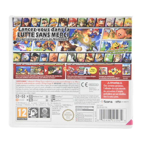 Jeu Nintendo 3DS Super Smash Bros