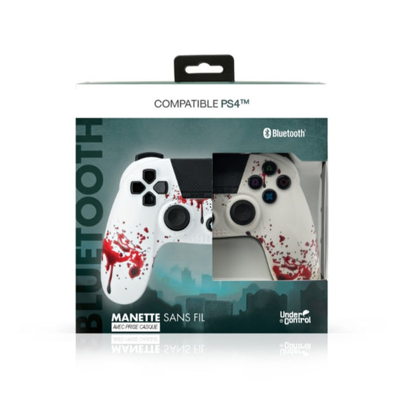 Manette PS4 sans fil Bluetooth Zombie Under Control 1637