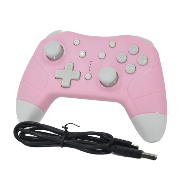 Manette Switch sans fil rose Under Control 2945
