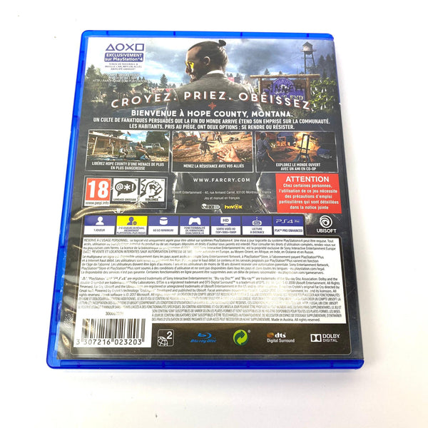 JEU PS4 FARCRY5