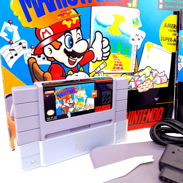 JEU SUPER NINTENDO IMPORT US MARIO PAINT