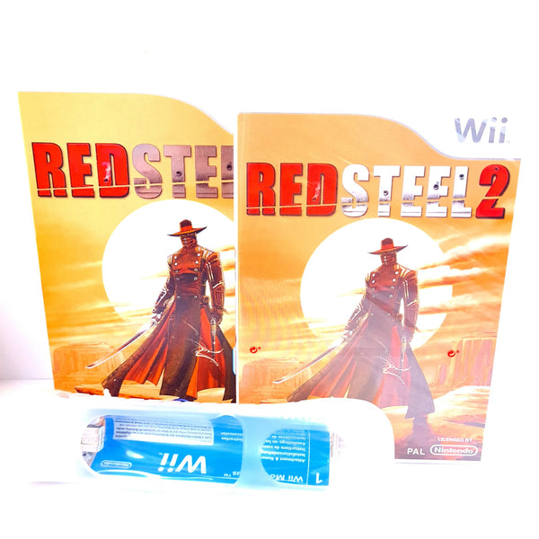 JEU WII PACK RED STEEL 2