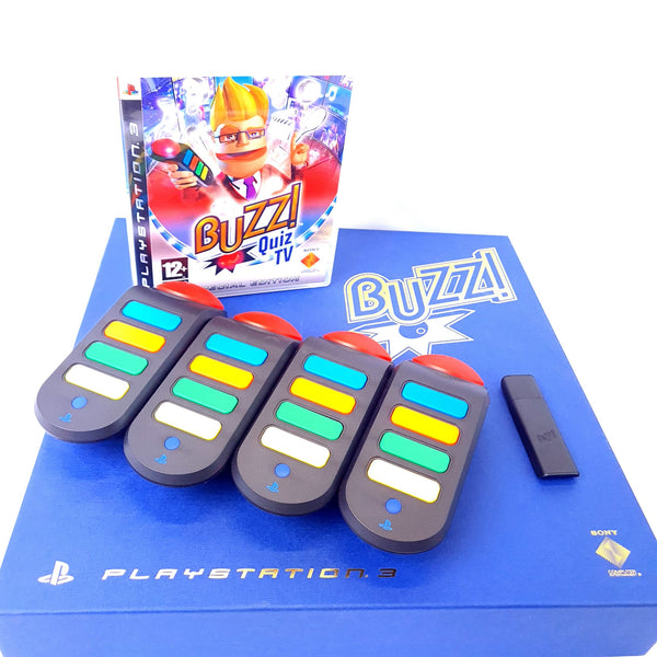 JEU PS3 PACK BUZZ THE QUIZZ TV EDITION COLLECTOR