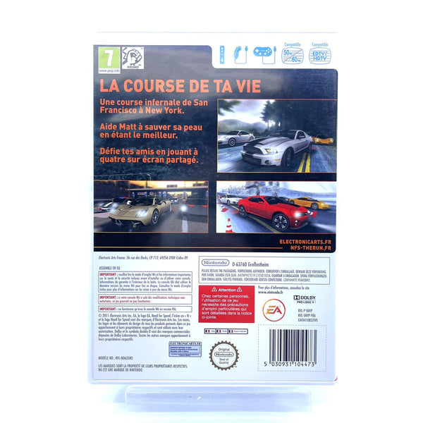 Jeu Wii Need for Speed The Run