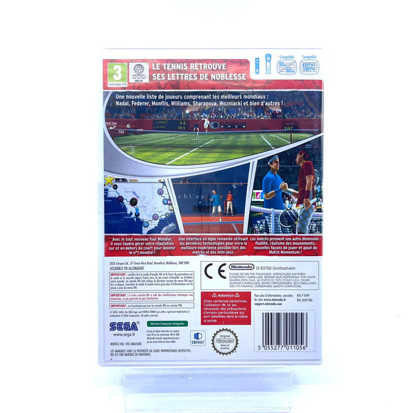 Jeu Wii Virtua Tennis 4