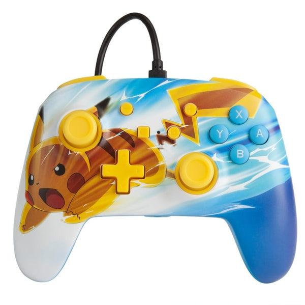 MANETTE SWITCH POKEMON FILAIRE AVEC PRISE CASQUE  Neuf