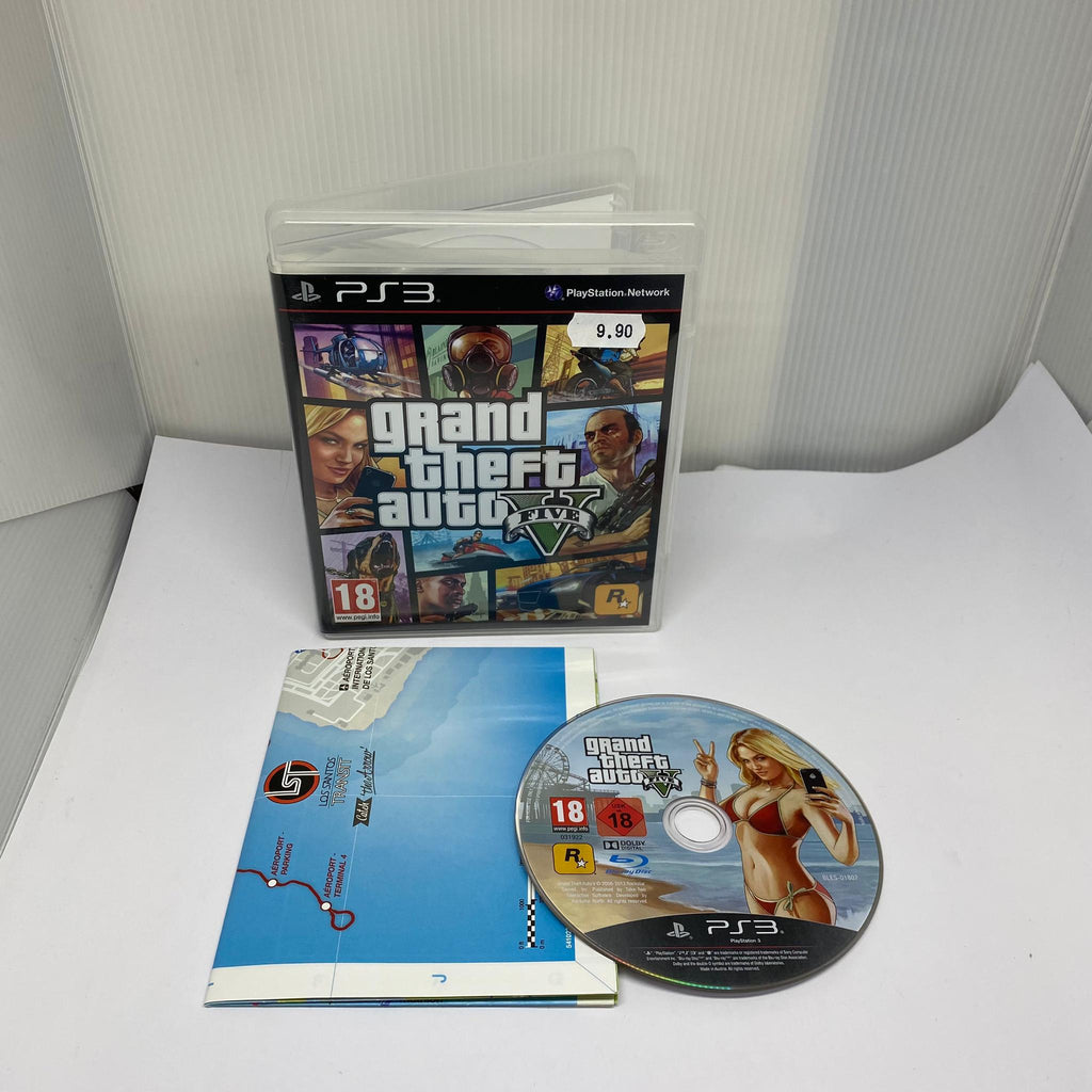 Jeux PS3 Grand Theft Auto V