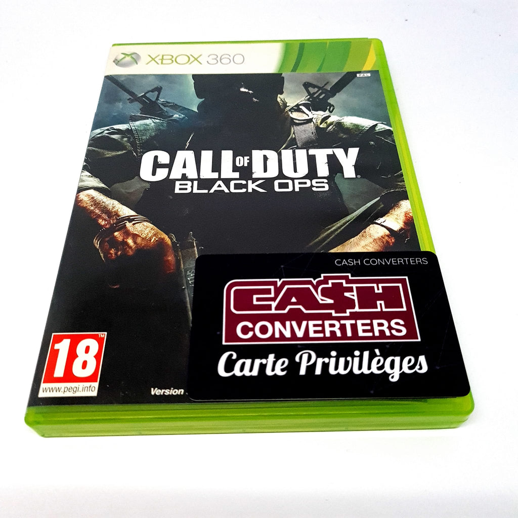 JEU XBOX 360 CALL OF DUTY BLACL OPS