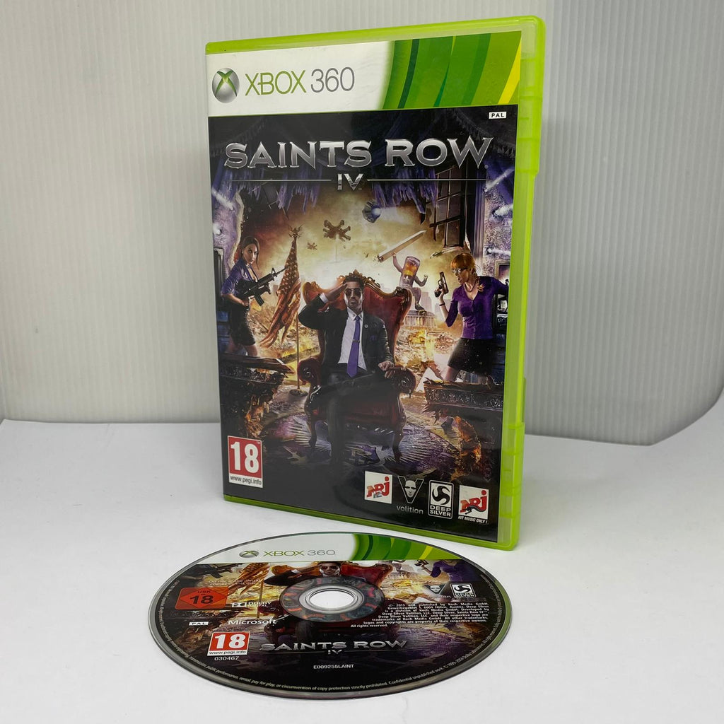 Jeux Xbox 360 Saints Row 4