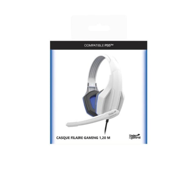 CASQUE GAMING COMPATIBLE PS5 1702 Neuf
