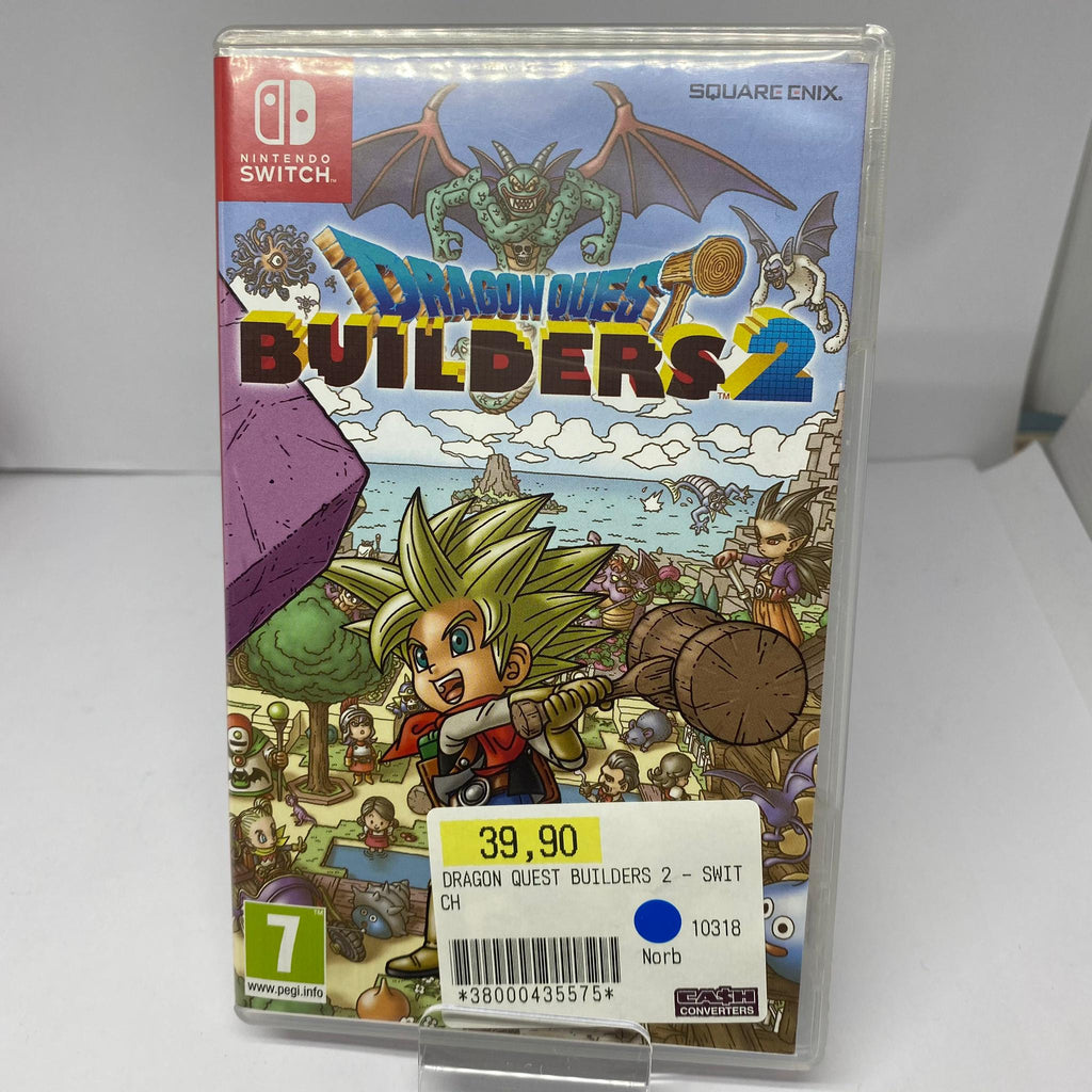 Jeux Switch Dragon Quest Builders 2