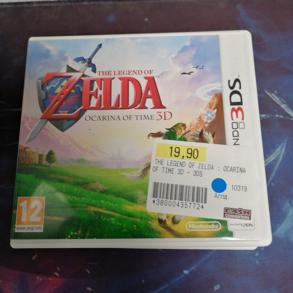 Jeux 3ds Zelda ocarina of time 3d