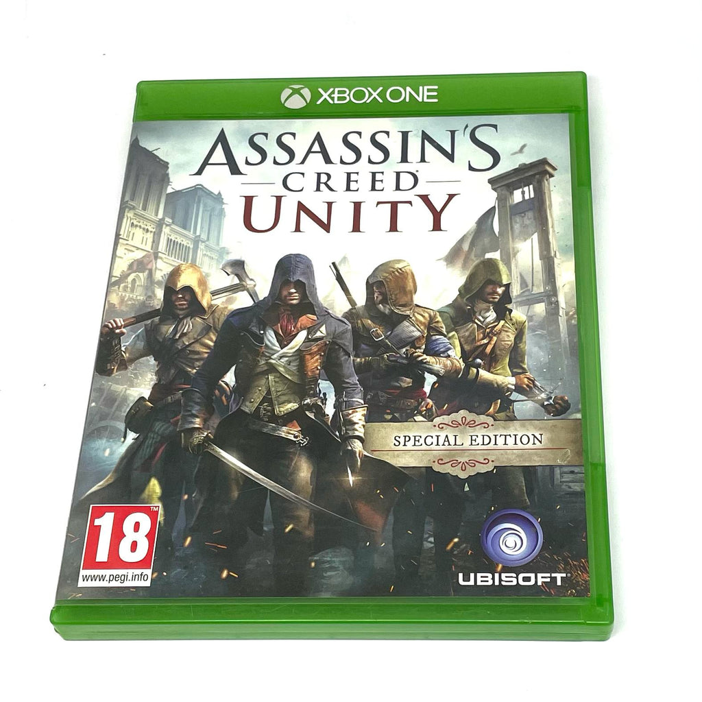 Jeux Xbox One  Assassin's creed Unity spécial édition
