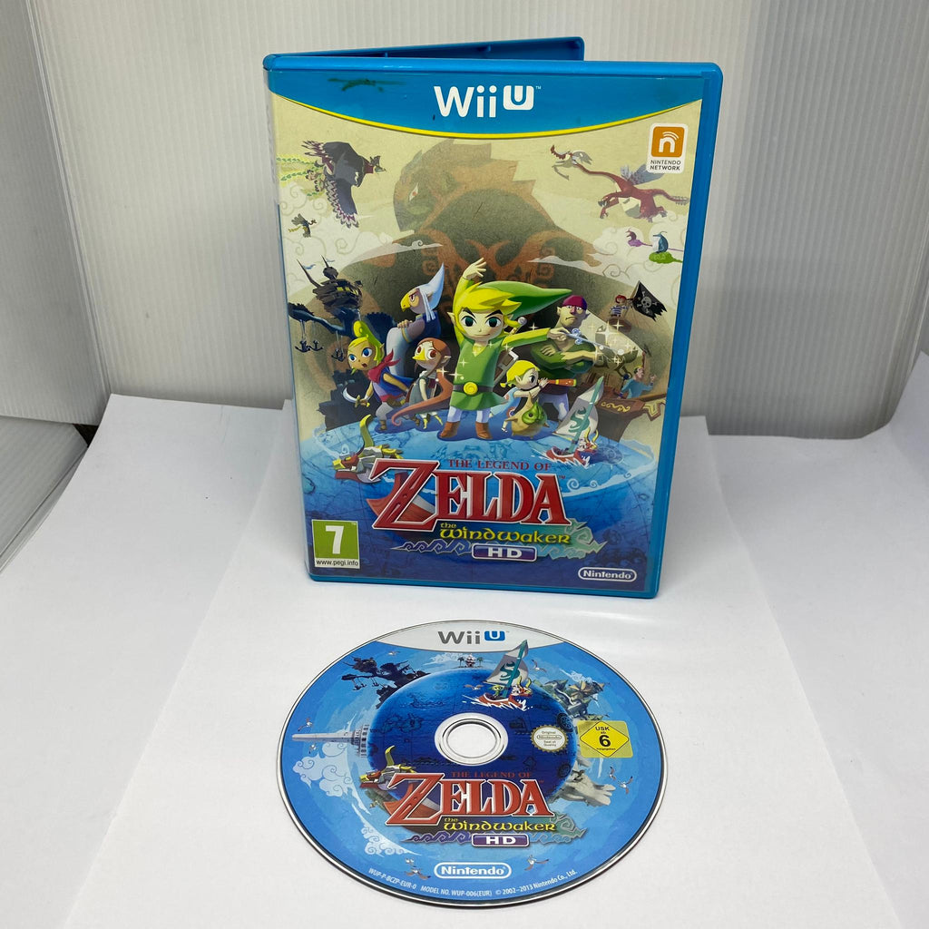 Jeux Nintendo WiiU The Legend Of Zelda The Wind Waker HD
