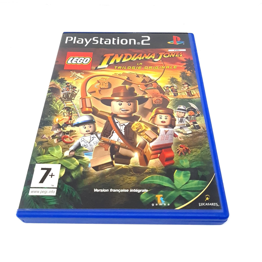 JEU PS2 LEGO INDIANA JONES LA TRILOGIE ORIGINALE