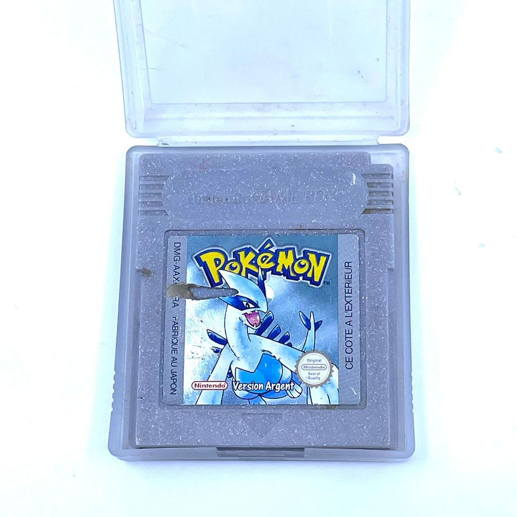 Jeux Nintendo Gameboy  Pokémon version argent