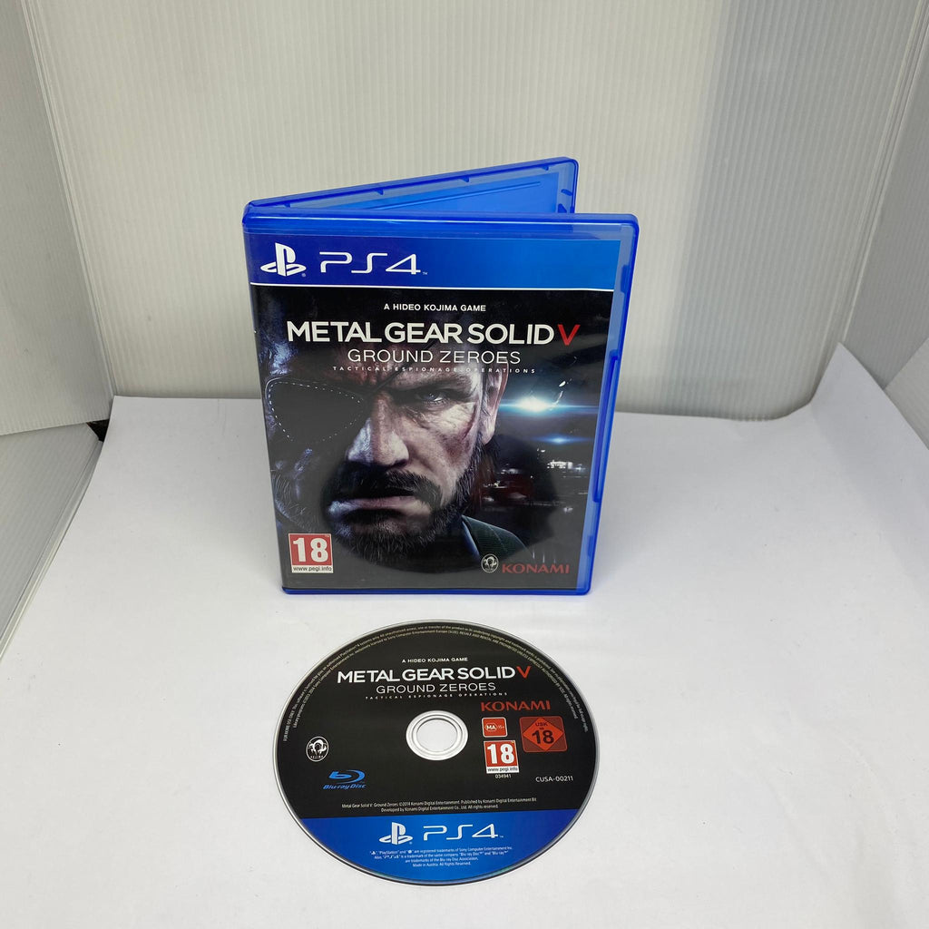 Jeux PS4  Metal Gear Solid V Ground Zeroes