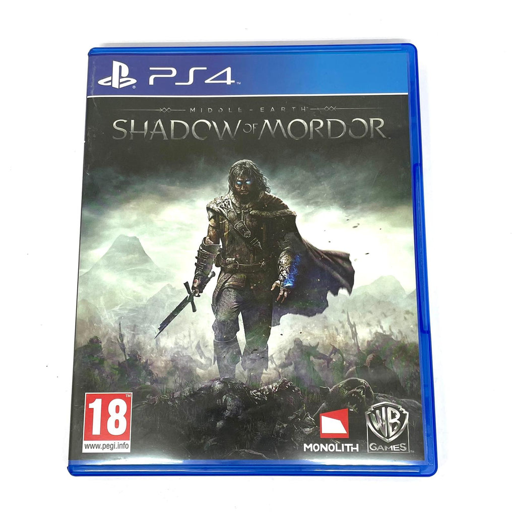 Jeux Ps4  Shadow of mordor