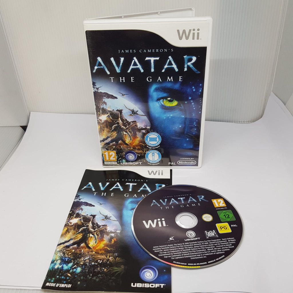 Jeu Wii James Carmeron's Avatar: The game