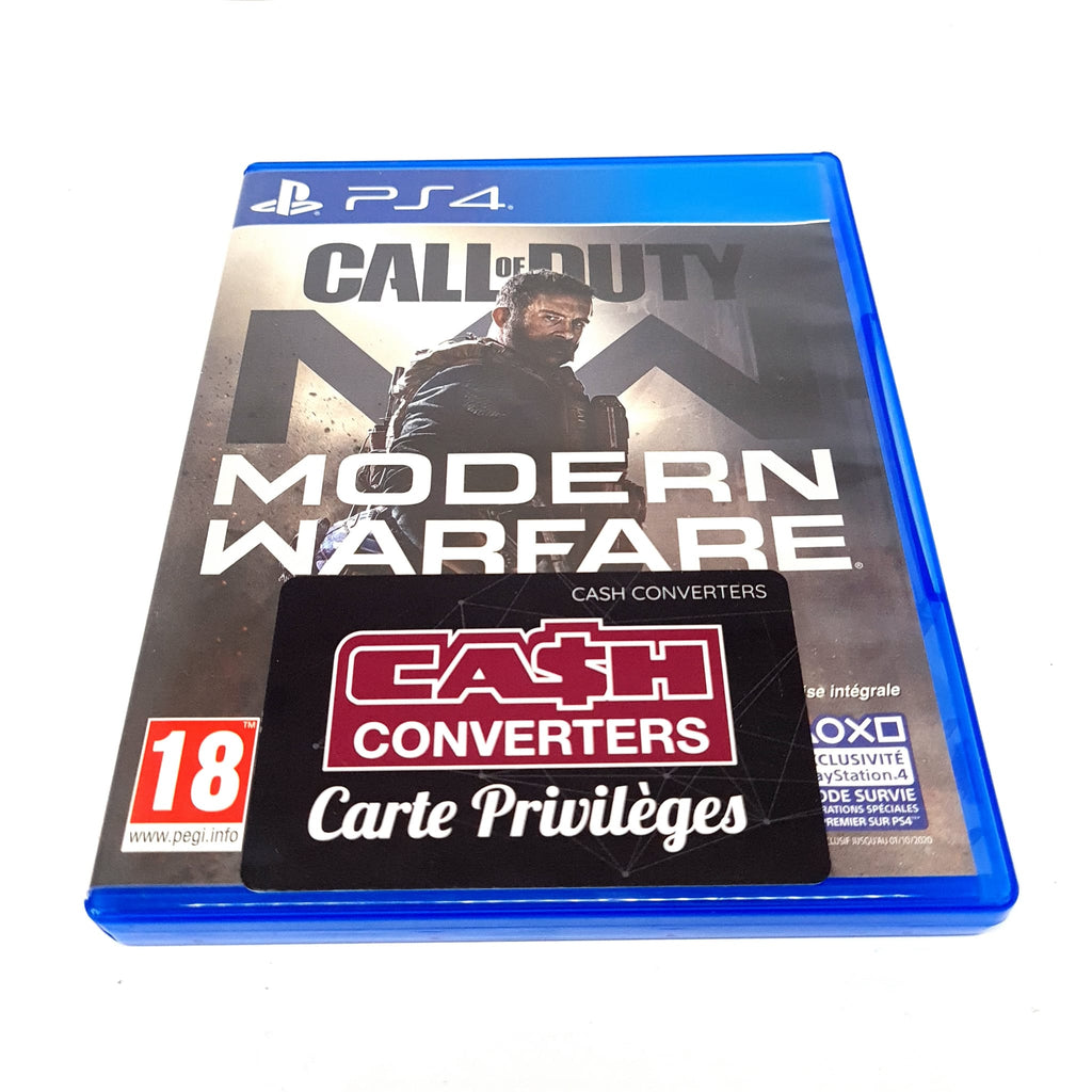JEU PS4 CALL OF DUTY MODERN WARFARE
