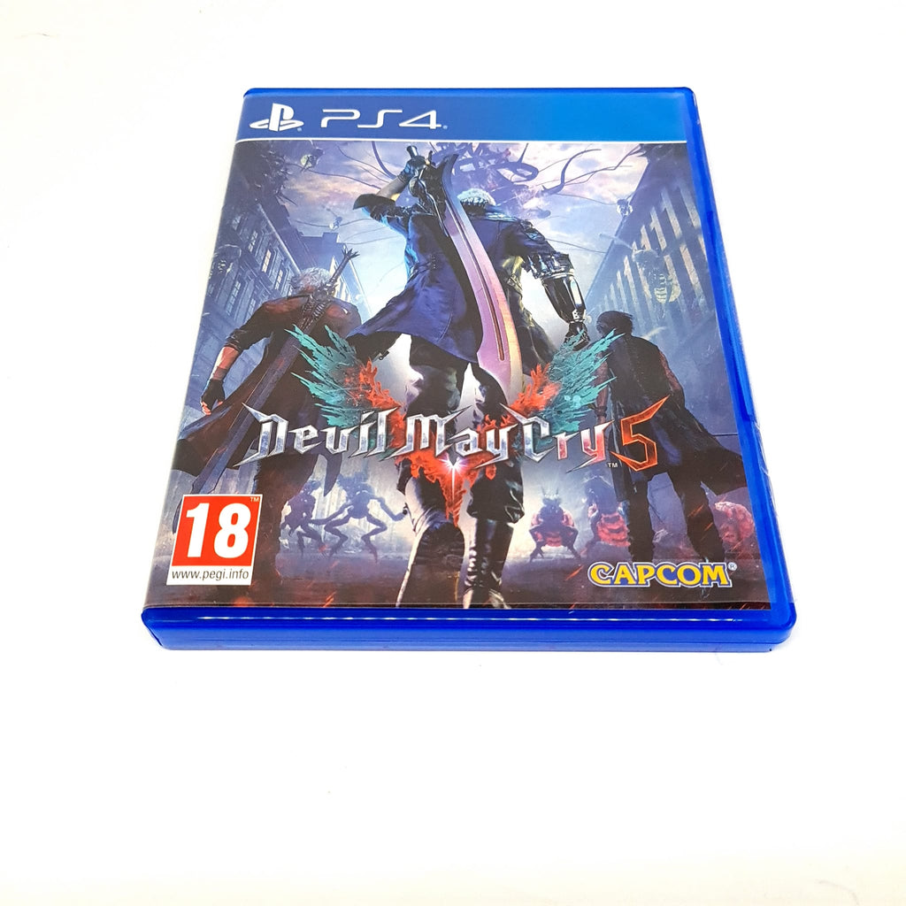 JEU PS4 DEVIL MAY CRY 5