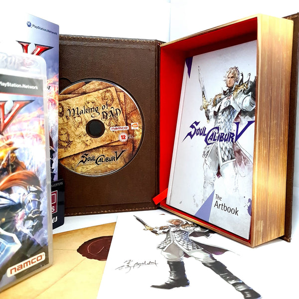 JEU PS3 SOULCALIBUR V  EDITION COLLECTOR