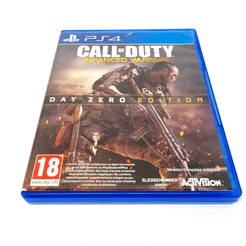 JEU PS4 CALL OF DUTY ADVANCED WARFARE DAY ZERO EDITION