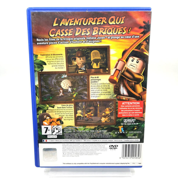 JEU PS2 - LEGO INDIANA JONES : LA TRILOGIE ORIGINALE